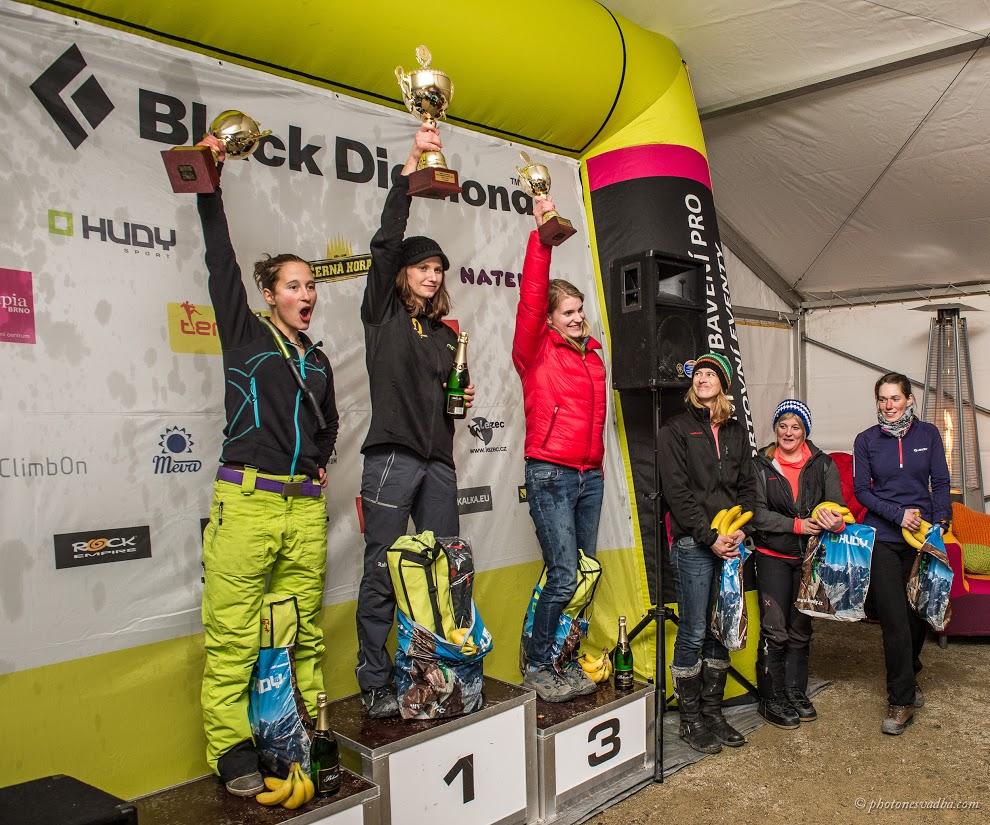 Vyhlášení vítězů, obtížnost ženy